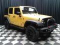 Jeep Wrangler Unlimited Sport 4x4 Baja Yellow photo #4