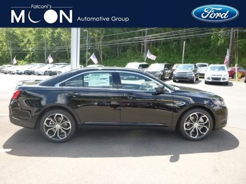 Shadow Black 2018 Ford Taurus SHO AWD