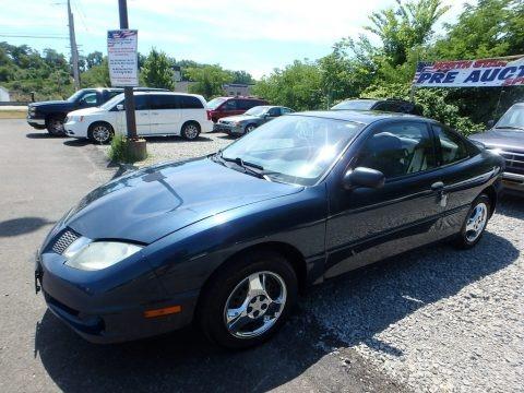 Steel Blue Metallic 2005 Pontiac Sunfire Coupe
