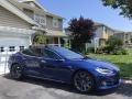 Tesla Model S 60 Deep Blue Metallic photo #14