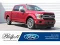 Ford F150 XLT SuperCrew Ruby Red photo #1