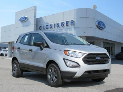 Moondust Silver 2018 Ford EcoSport S