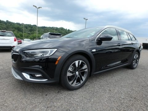 Ebony Twilight Metallic 2018 Buick Regal TourX Essence AWD