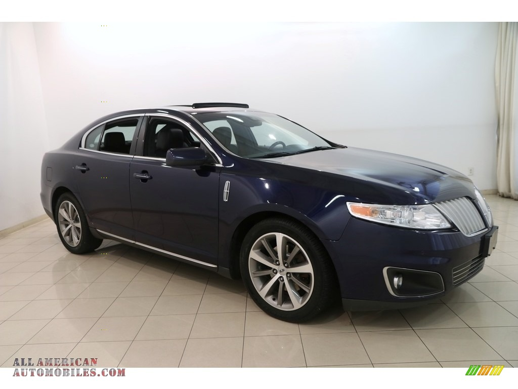 2011 MKS FWD - Kona Blue Metallic / Charcoal Black photo #1