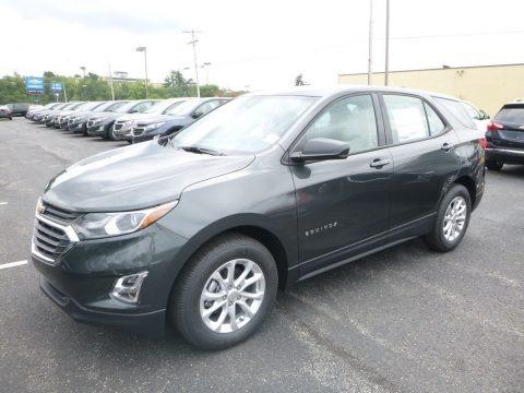 Nightfall Gray metallic 2019 Chevrolet Equinox LS