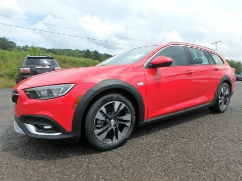 Sport Red 2018 Buick Regal TourX Preferred AWD