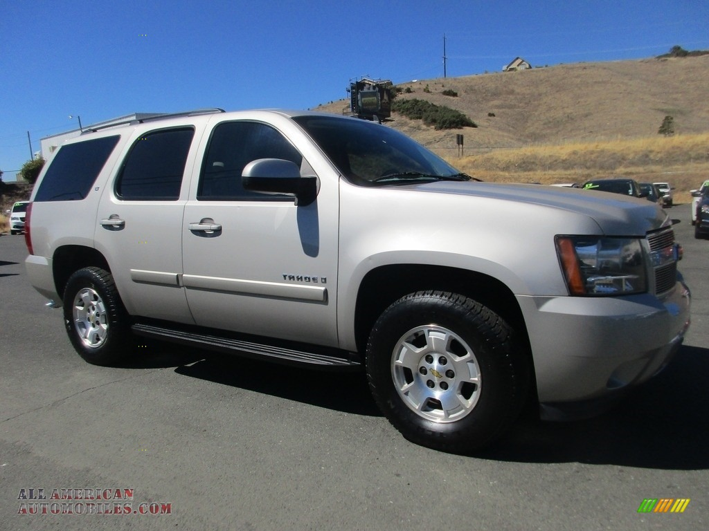 2008 Tahoe LT - Gold Mist Metallic / Light Titanium/Dark Titanium photo #1