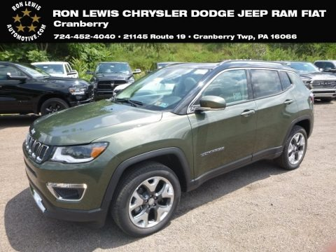 Olive Green Pearl 2018 Jeep Compass Limited 4x4