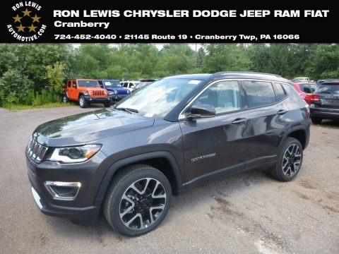 Granite Crystal Metallic 2018 Jeep Compass Limited 4x4