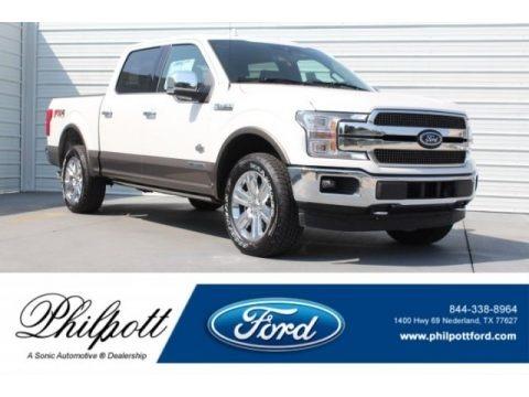 White Platinum 2018 Ford F150 King Ranch SuperCrew 4x4