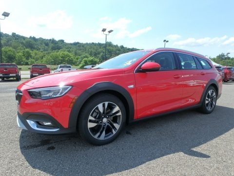 Sport Red 2018 Buick Regal TourX Essence AWD