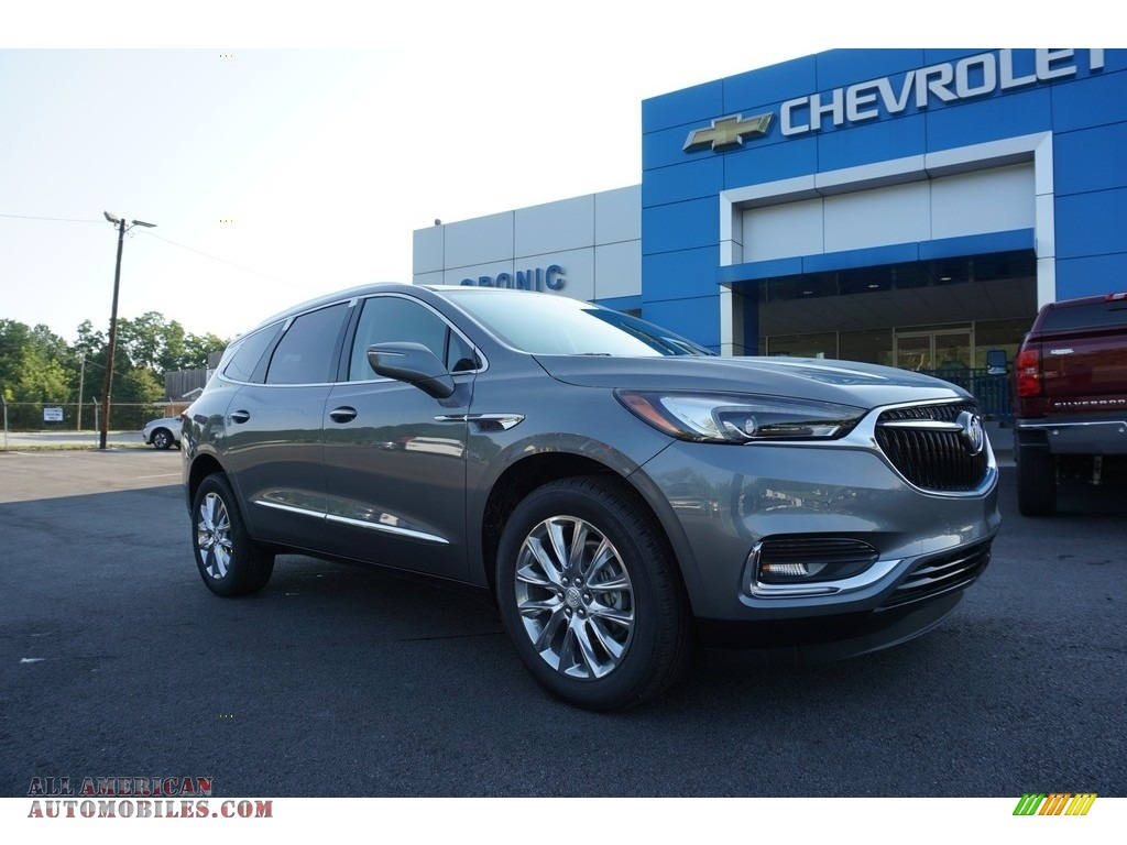 2019 Enclave Premium - Satin Steel Metallic / Dark Galvanized/Ebony Accents photo #1