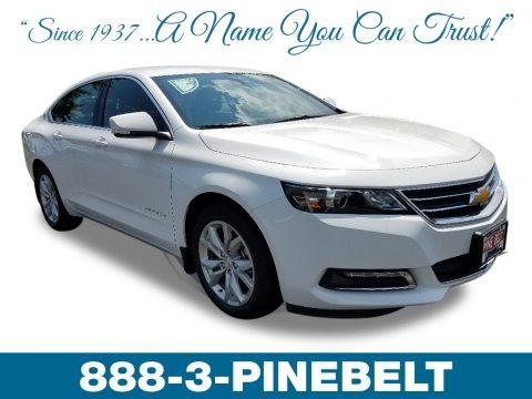 Summit White 2019 Chevrolet Impala LT