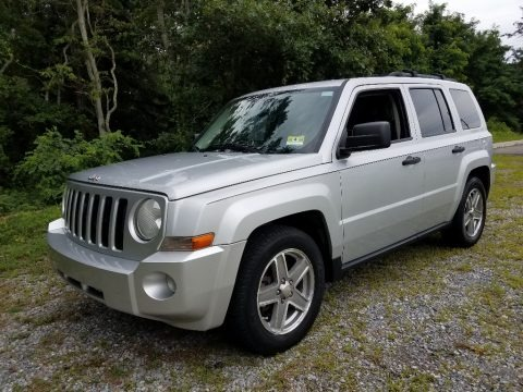 Bright Silver Metallic 2007 Jeep Patriot Sport 4x4