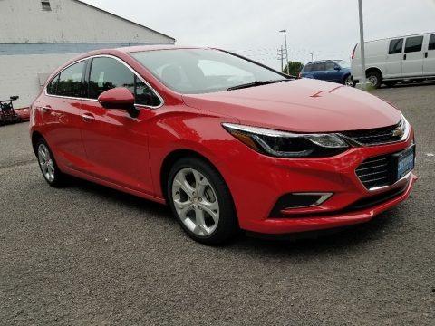 Red Hot 2018 Chevrolet Cruze Premier Hatchback