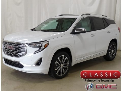 Summit White 2019 GMC Terrain Denali AWD