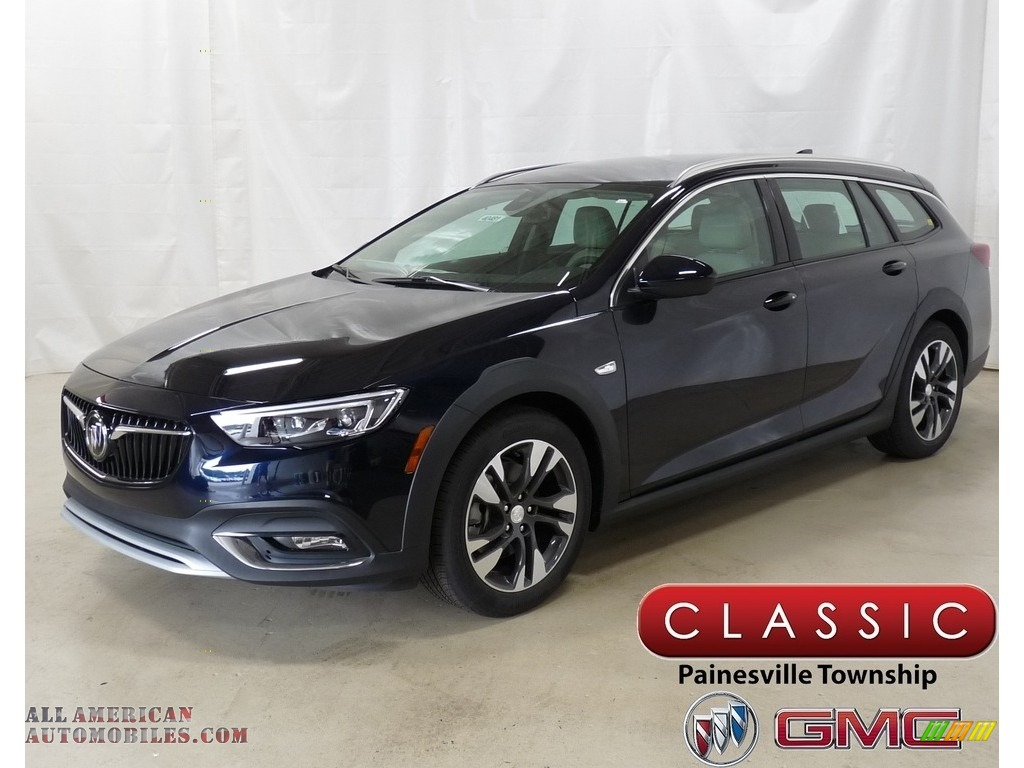 2018 Regal TourX Essence AWD - Darkmoon Blue Metallic / Shale photo #1
