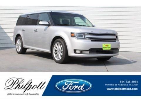 Ingot Silver 2018 Ford Flex Limited