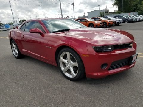 Crystal Red Tintcoat 2014 Chevrolet Camaro LT Coupe
