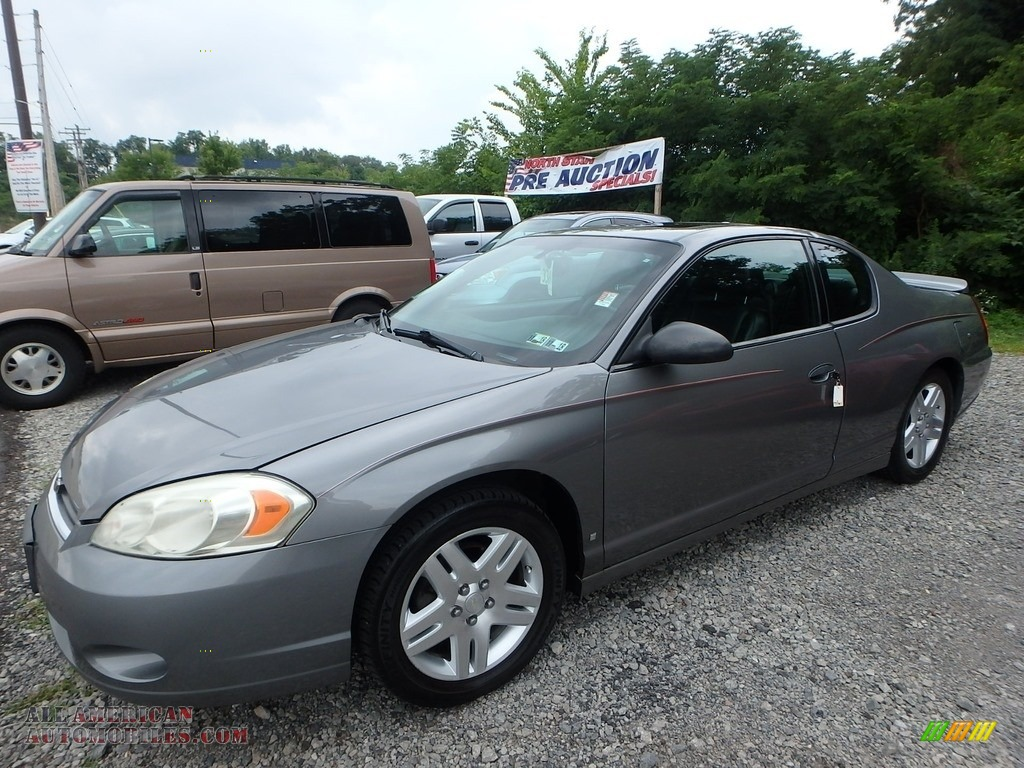 2006 Monte Carlo LTZ - Dark Silver Metallic / Ebony photo #1
