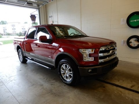 Ruby Red 2016 Ford F150 Lariat SuperCrew 4x4