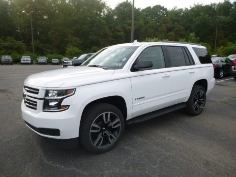 Summit White 2019 Chevrolet Tahoe LT 4WD