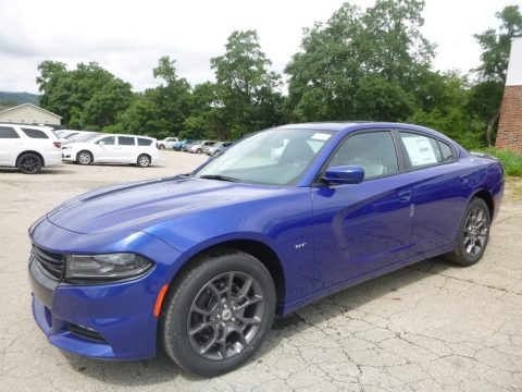 IndiGo Blue 2018 Dodge Charger GT AWD