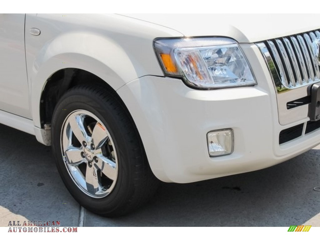 2009 Mariner Premier V6 - White Suede / Cashmere Leather/Charcoal Black photo #12