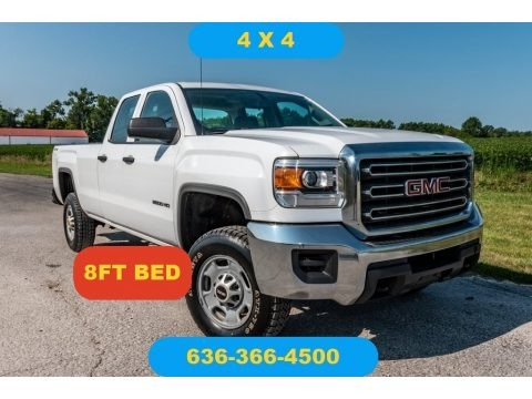 Summit White 2015 GMC Sierra 2500HD Double Cab 4x4