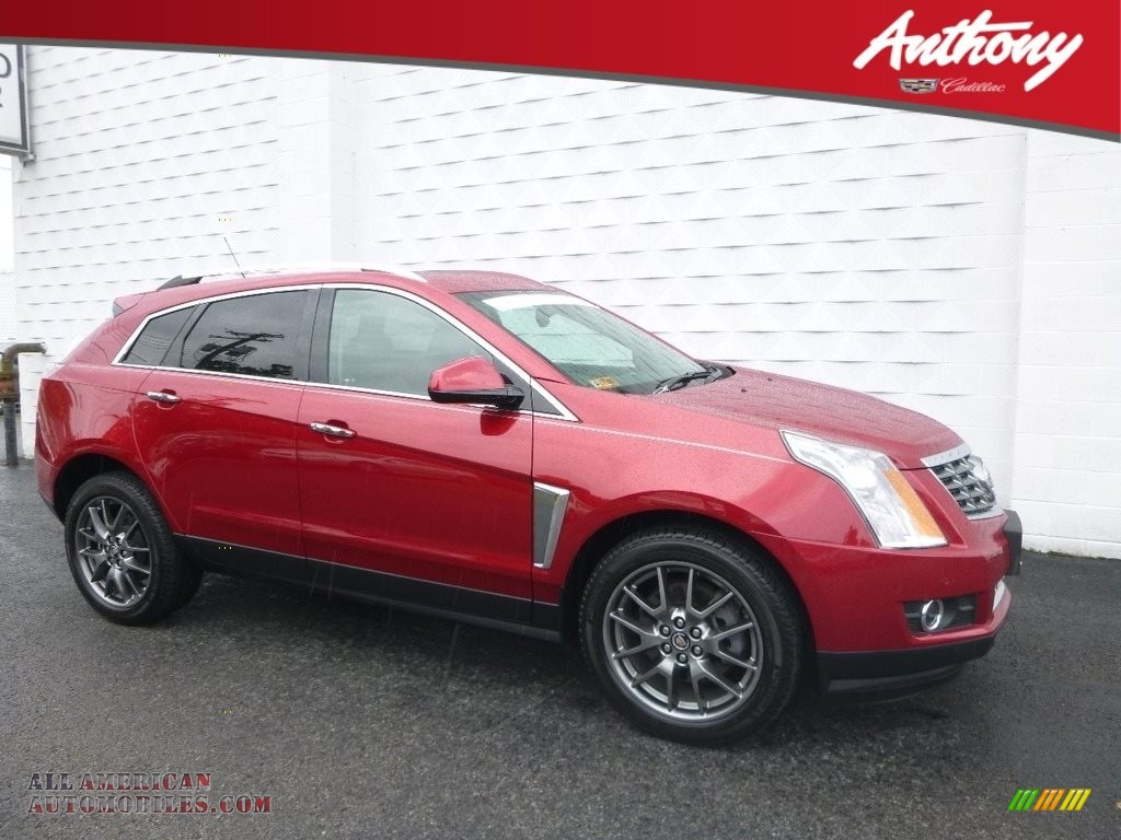 2016 SRX Performance - Crystal Red Tincoat / Ebony/Ebony photo #1