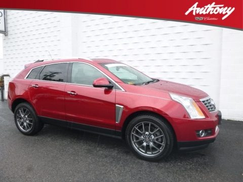 Crystal Red Tincoat 2016 Cadillac SRX Performance