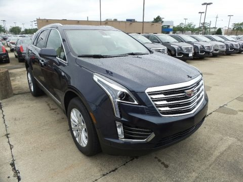 Harbor Blue Metallic 2019 Cadillac XT5