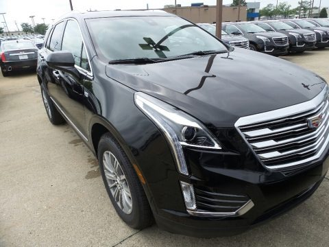 Stellar Black Metallic 2019 Cadillac XT5 Luxury AWD