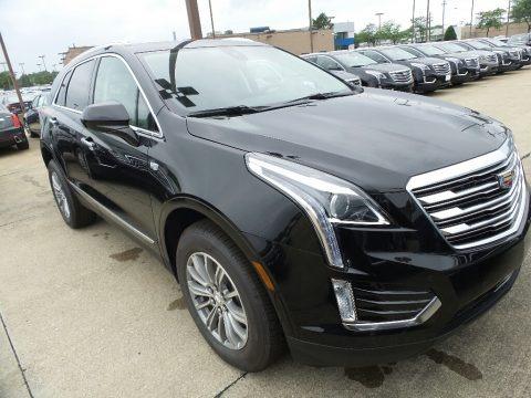 Stellar Black Metallic 2019 Cadillac XT5 Luxury