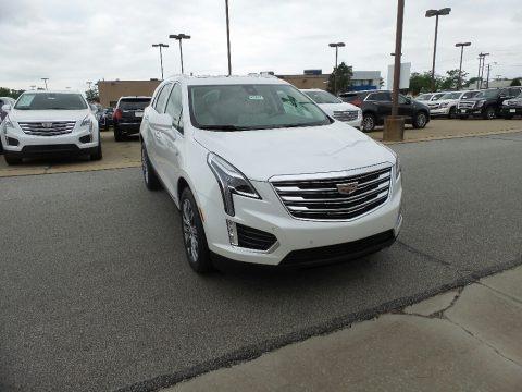 Crystal White Tricoat 2018 Cadillac XT5 Premium Luxury AWD