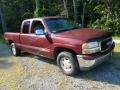 GMC Sierra 1500 SLE Extended Cab 4x4 Dark Toreador Red Metallic photo #3