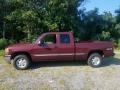 GMC Sierra 1500 SLE Extended Cab 4x4 Dark Toreador Red Metallic photo #5