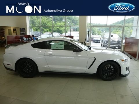 Oxford White 2018 Ford Mustang Shelby GT350