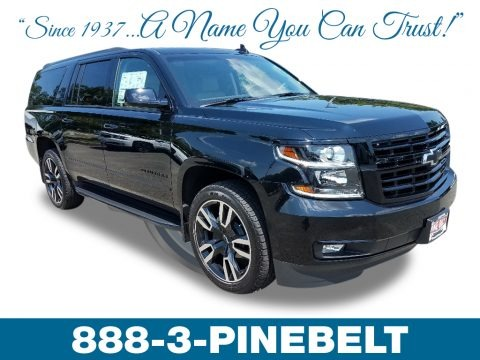 Black 2019 Chevrolet Suburban Premier 4WD
