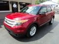 Ford Explorer XLT Ruby Red Metallic photo #2