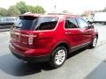 Ford Explorer XLT Ruby Red Metallic photo #4
