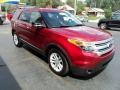 Ford Explorer XLT Ruby Red Metallic photo #5