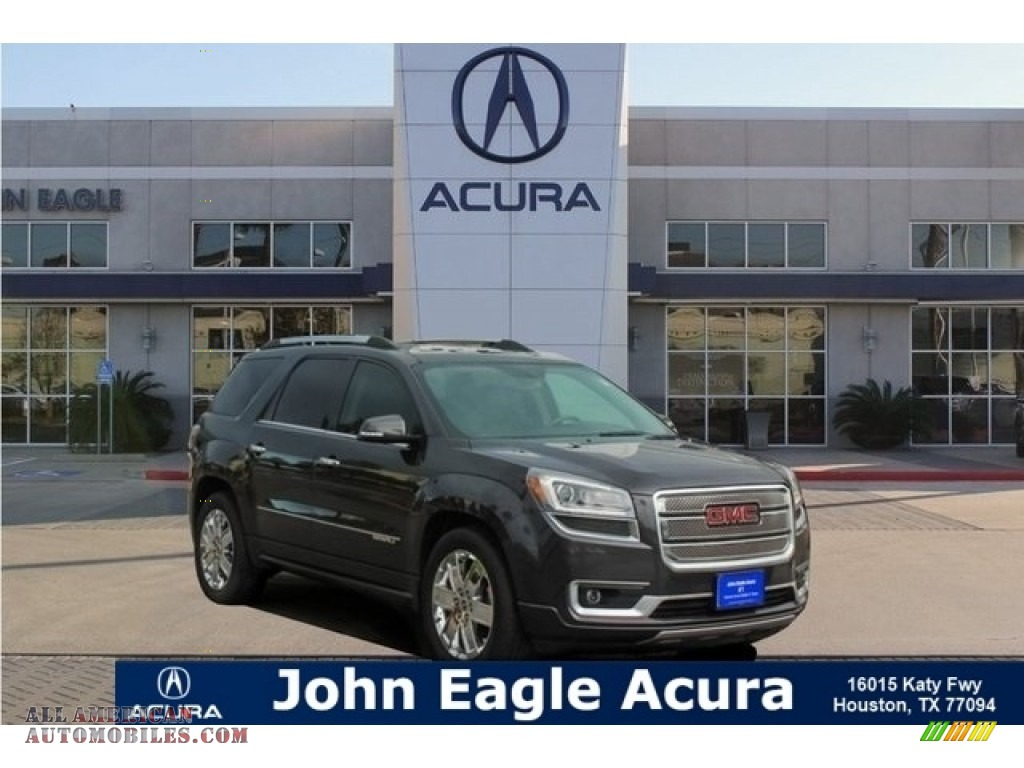 2013 Acadia Denali - Cyber Gray Metallic / Ebony photo #1
