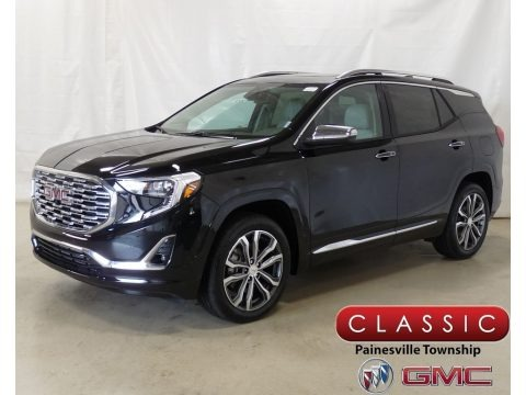 Ebony Twilight Metallic 2018 GMC Terrain Denali AWD