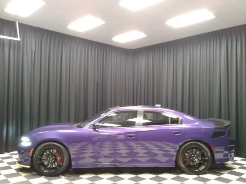 Plum Crazy Pearl 2018 Dodge Charger Daytona 392