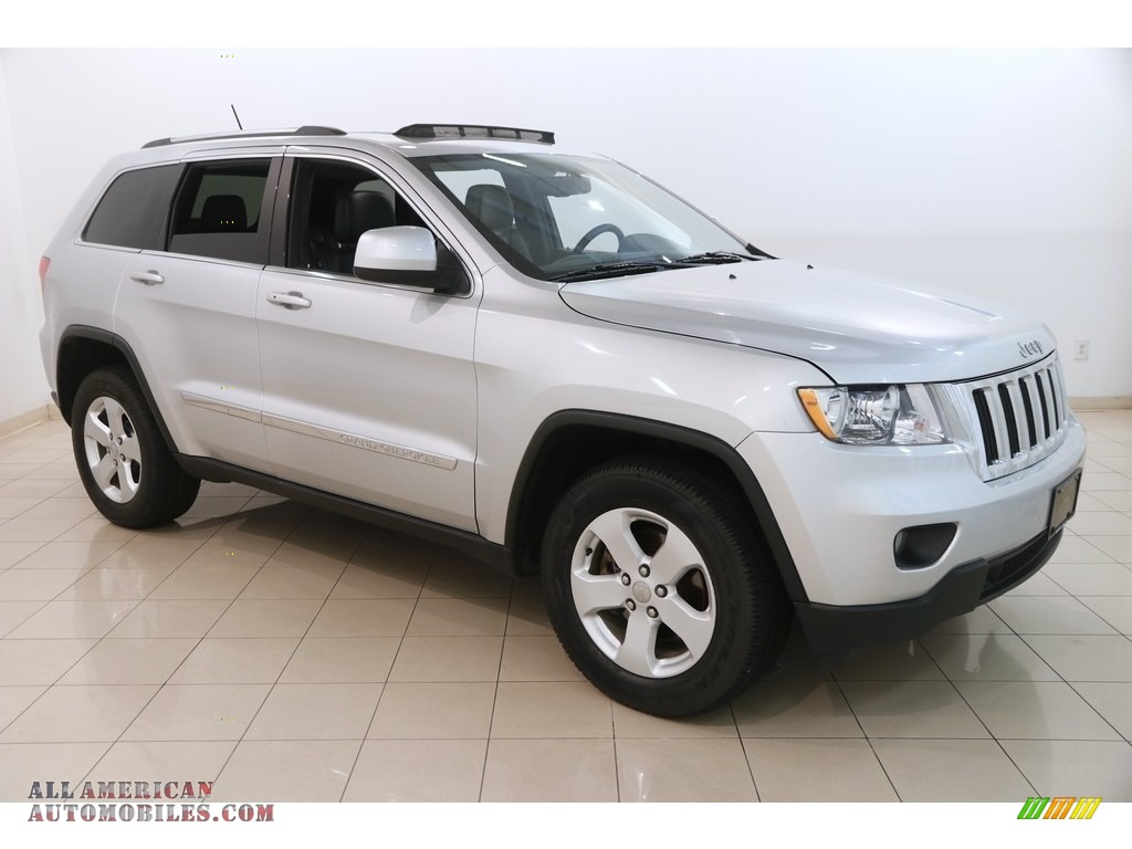 2012 Grand Cherokee Laredo 4x4 - Bright Silver Metallic / Black photo #1
