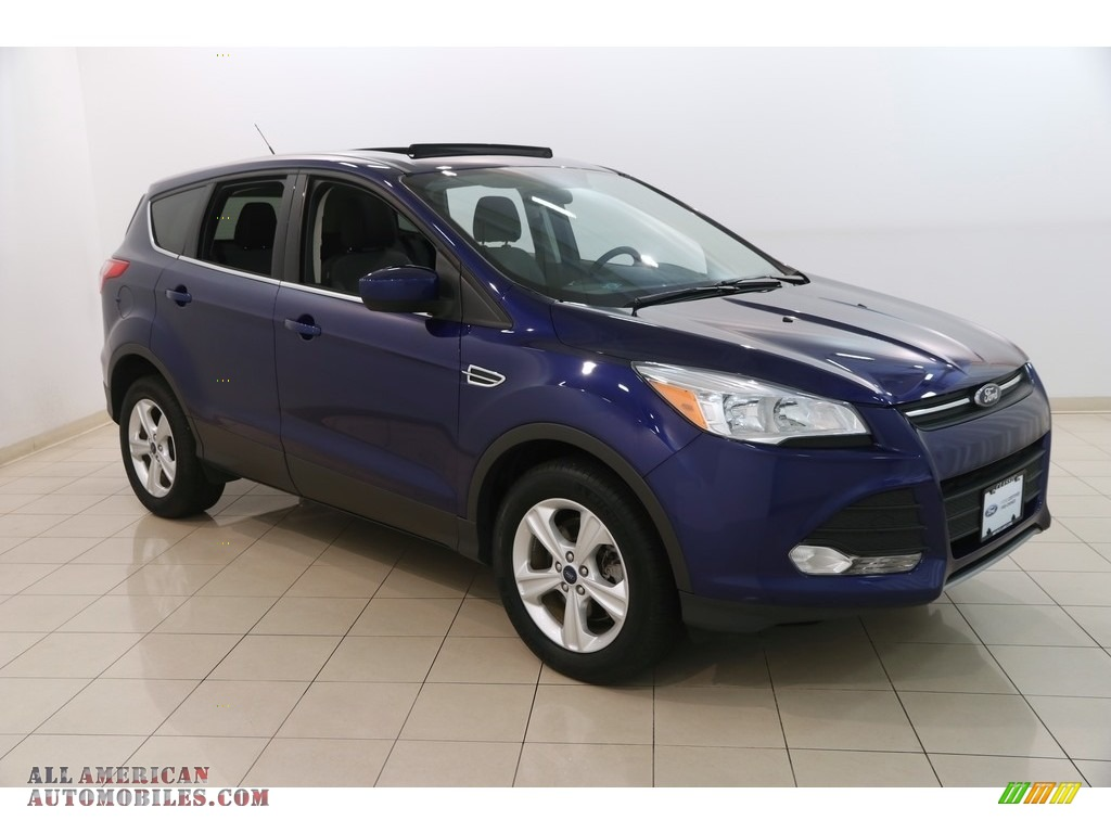 2016 Escape SE 4WD - Deep Impact Blue Metallic / Charcoal Black photo #1