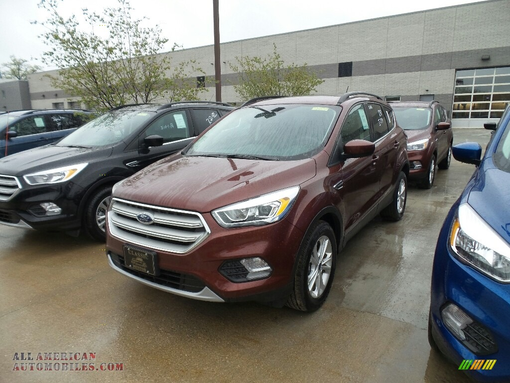 2018 Escape SEL 4WD - Cinnamon Glaze / Charcoal Black photo #1