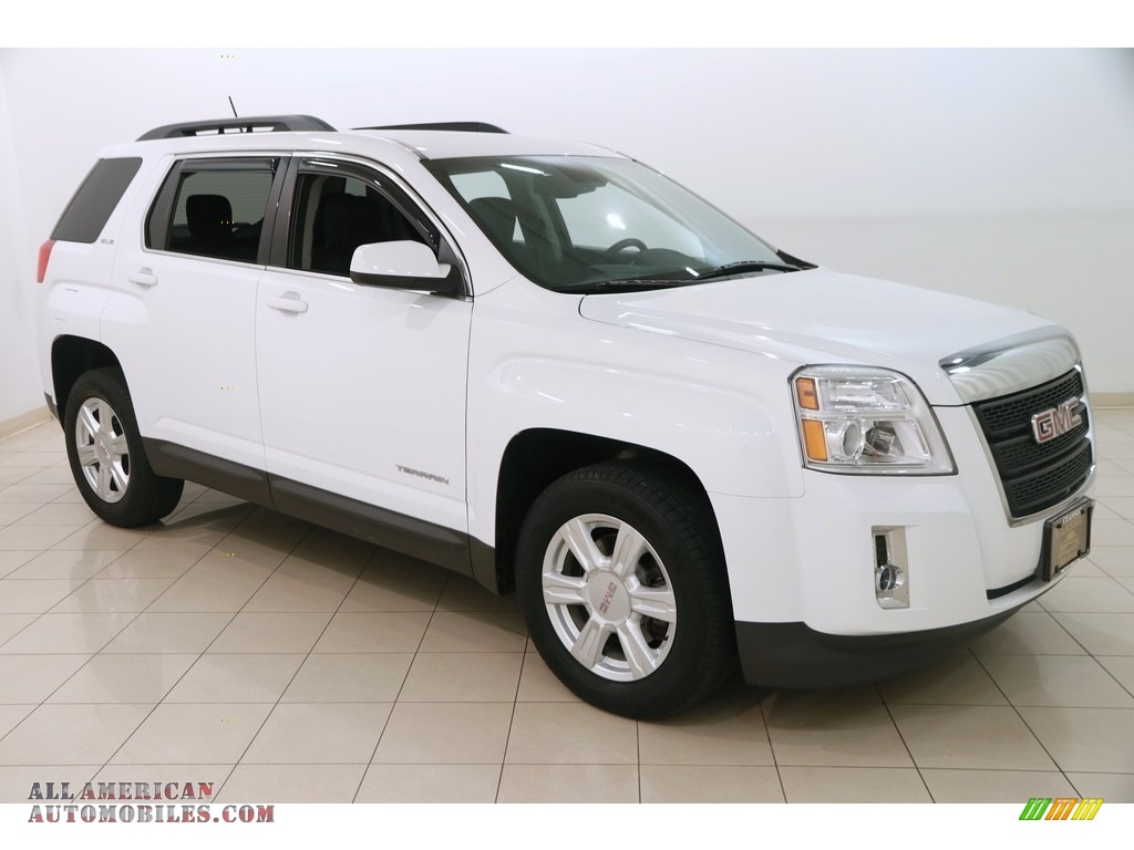 Summit White / Jet Black GMC Terrain SLE AWD