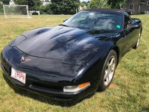 Black 2004 Chevrolet Corvette Convertible